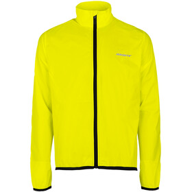 axant Elite Windjacke Herren transparent/gelb